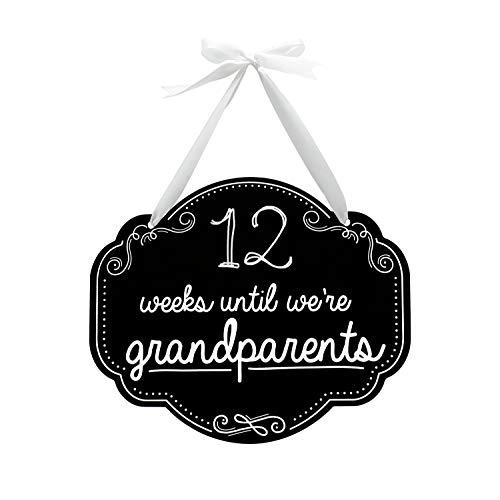 Pearhead Weeks Until Grandparents Chalkboard Sign