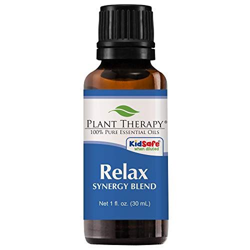 Plant Therapy Relax Synergy Essential Oil 30 mL  100% Pure,
