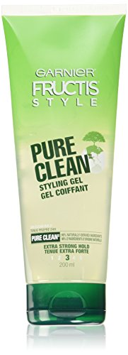 Hair Gel Women - Garnier Fructis Style Pure Clean Styling Gel 6.80 oz