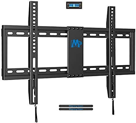 "2x Fixed TV Wall Mount 32 40 42 43 48 50 55/"" inch LED LCD Flat Screen Ultra Slim"