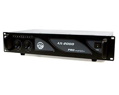 Amplificateur sono 2 x 1000 W AX-2000 MY DEEJAY