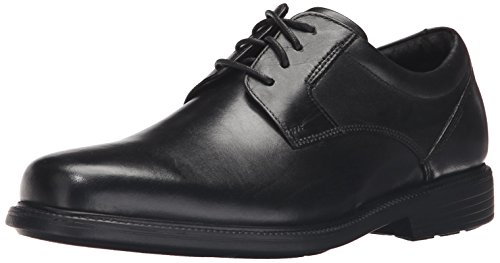 Rockport Mens Charles Road Plain Toe Oxford Black Leather 9 5 W  Ee  9 5 W