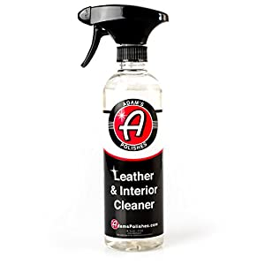 Adam's Leather & Interior Cleaner 16oz - Safely Deep Cleans All Leather Vinyl and Plastic Interior Surfaces - Gentle on Your Interior, Tough on Dirt
