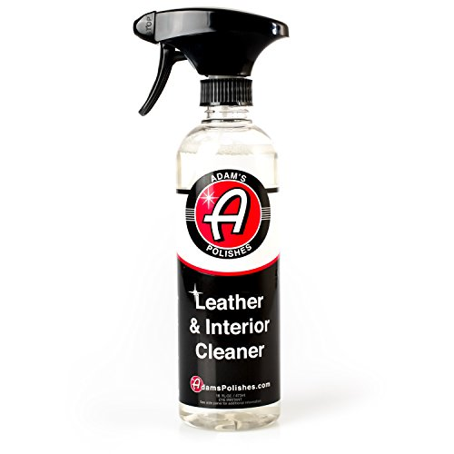 Adams Leather & Interior Cleaner 16oz - Safely Deep Cleans All Leather Vinyl and Plastic Interior Surfaces - Gentle on Your Interior, Tough on Dirt