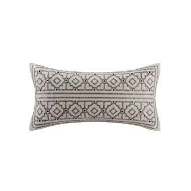 Echo Odyssey Oblong Decorative Pillow, Stone