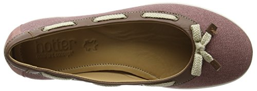 sale get to buy outlet locations sale online Hotter Women's Gem Ballet Flats Pink (Salmon/Tan) rJQy7n3PE