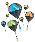 Aeromax Tangle Free GLOW Parachute BLUE GREEN ORANGE OR YELLOW 1 pack