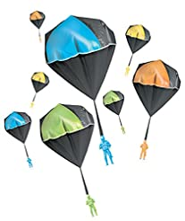 Aeromax Tangle Free GLOW Parachute BLUE ...