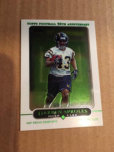 - 2005 Topps Chrome Football #239 Darren Sproles NM/M Rookie