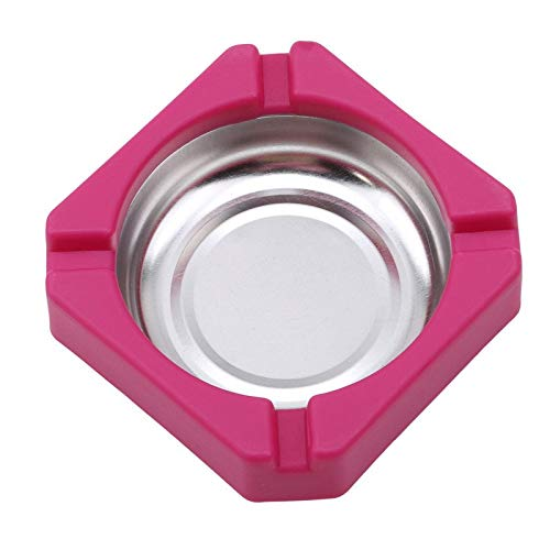 Laptop - 2019 Creative Candy Colored Plastic Stainless Steel Square Edging Ashtray Home Office Advertising - Vacuums Cover Grey Cigar Fireplace Dump Sand Jewelry Adult Intensifier Brown Incens