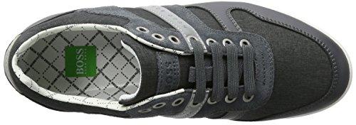 BOSS Green Arkansas_lowp_nych 10195464 01, Zapatillas para Hombre Gris (Dark Grey 021)
