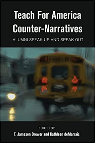 Teach for america counter narratives alumni speak up and speak out teach for america counter narratives alumni speak up and speak out black studies and critical thinking new edition edition fandeluxe Gallery