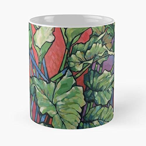Green Goddess Calla Lily - Lilies Green Goddess Lillies Lizmooregolding - Coffee Mugs Ceramic