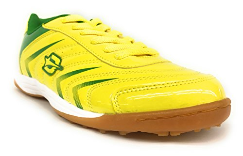 Dream Seek Big Kid / Mens 83100 Scarpe Da Calcio Da Calcio Futbol Misura 4,5-7 Giallo Neon