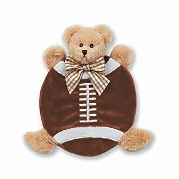 Football Plush Stuffed Animal Teddy Bear Security Blanket Bearington Baby Touchdown Snuggler Lovey 15