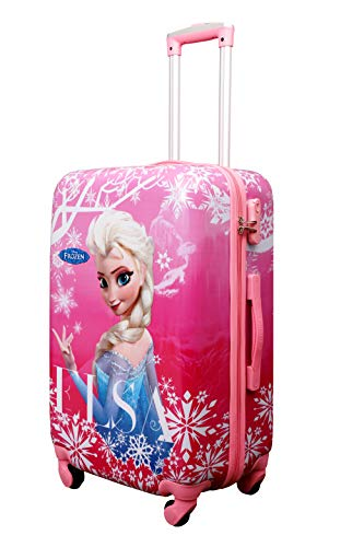 GAMME Elsa Polycarbonate 55CMs Front and Back Printed Hard Sided Cabin Luggage Trolley