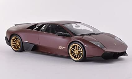 Amazon Com Lamborghini Murcielago Lp670 4 Sv Matt Brown Model Car