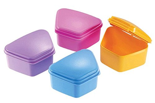Essentials DDB Denture Box,  Assorted Colors