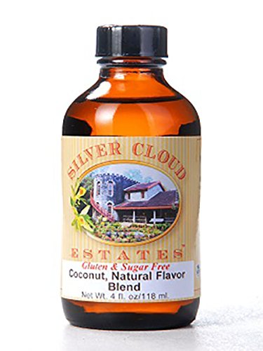 Coconut Extract, Natural Flavor Blend - 1 Gallon Jug by Silver Cloud Estates (Image #1)