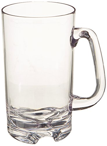 Wine-Enthusiast-IndoorOutdoor-Beer-Mug-Set-of-4-Clear