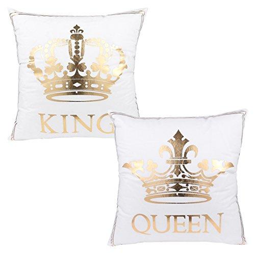 Bronzing Flannelette Home Pillowcase 18x18 Decorative Cushio