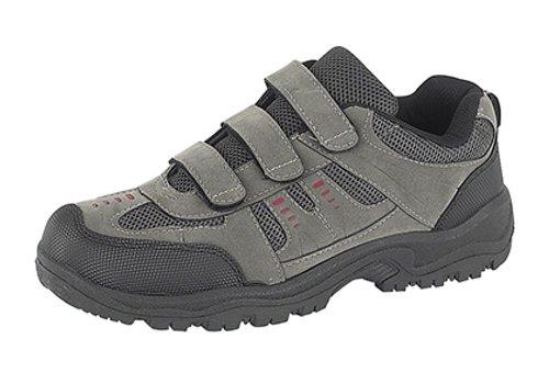 Mens DEK ASCEND Triple touch fastening Trek & trail Shoe Grey/Black