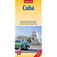 Nelles Map Landkarte Cuba | Kuba: 1 : 775,000 | reiß- und wasserfest; waterproof and tear-resistant; indéchirable et imperméable; irrompible & impermeable