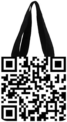 Dos Dimensión Código de leopardo Zebra Chevron azteca Zig Zag Patrón Negro y Blanco Elegante unique personalizada Custom algodón Tote Bag: Amazon.es: Hogar
