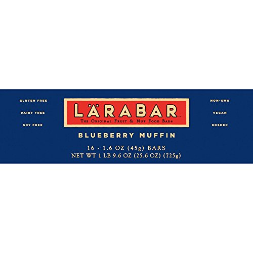 Larabar Gluten Free Blueberry Muffin Fruit & Nut Bars 16 ct Box (Pack of 5) by Larabar (Image #2)