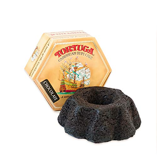 TORTUGA Caribbean Chocolate Rum Cake  16 oz Rum Cake  The Perfect Premium Gourmet Gift for Gift Baskets Parties Holidays and Birthdays  Great Cakes for Delivery