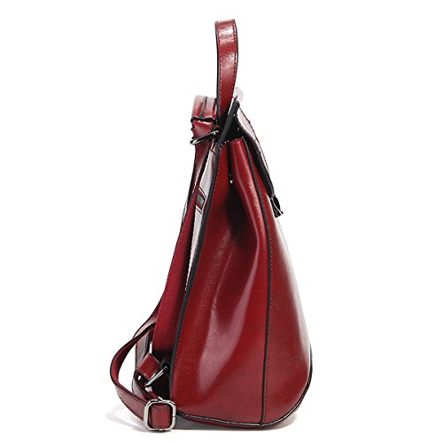 Sac portés à femme LF Sac en Girl Bordeaux dos 8967 cuir main fashion E nPavq1w