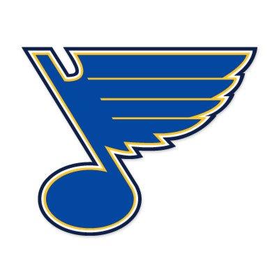 St. Louis Blues NHL car bumper sticker decal
