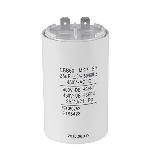 10pcs CBB60 Washing Machine Capacitor 250V AC SH PO 16 uF Start Running Capacito