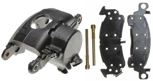 ACDelco 18R623 Professional Front Passenger Side Disc Brake Caliper Assembly with Pads (Loaded), Remanufactured