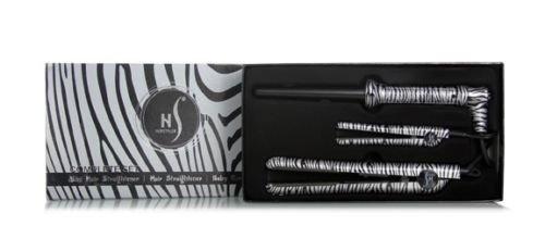 Platinum Herstyler Zebra Gift Set Kit, Includes Straightener