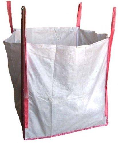 (5,85EUR/Stück) 25 Big Bag FIBC Steinsack Entsorgungssack 90x90x90cm SWL 1500Kg