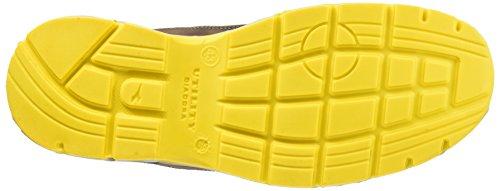 Diadora Run Low S3 Src - Calzado de protección de Piel para hombre Marrón (Marrone Scuro/blu Maiolica)