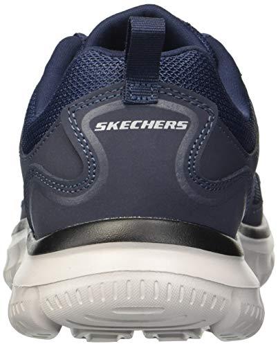 Schwarz Herren Sportschuhe Navy SCLORIC Track Skechers qTHPwZx