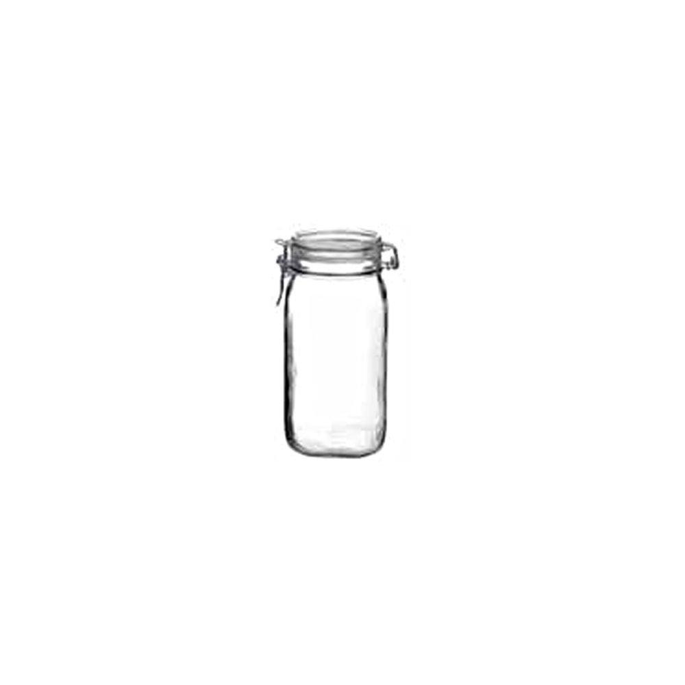 Bormioli Rocco 4949Q454 Fido 54.75 Oz. Clear Jar - 12 / CS