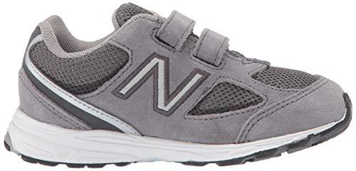 New Balance Boys' 888v2 Hook and Loop Running Shoe Dark Grey, 2 M US Infant by New Balance (Image #6)