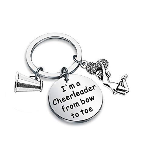Zuo Bao Cheer Jewelry Cheerleader Keychain I'm A