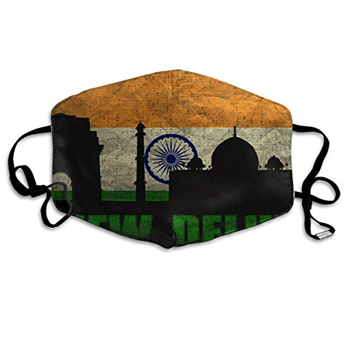 Anti Dust Mask New Delhi Architecture Anti Pollution Washable Reusable Mouth Masks (Best Mask For Delhi Pollution)