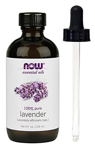 Lavender Oil, 4 oz, From NOW (4 OZ + Glass Dropper) by NOW Foods