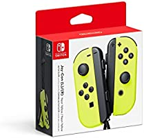 Nintendo Controllers, Neon Yellow - Standard Edition - Nintendo Switch