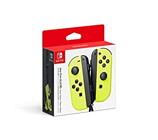 Nintendo Joy-Con (L/R) - Neon Yellow (B06ZYM3LBP) | Amazon Products