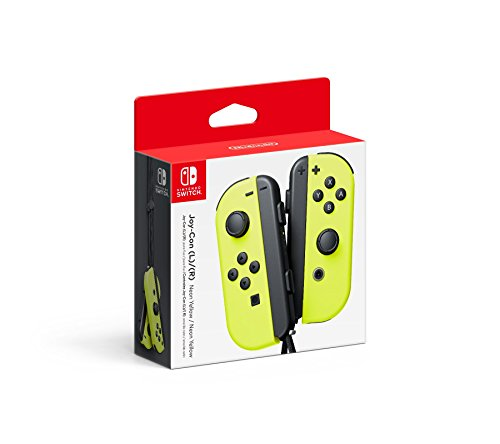Nintendo Joy-Con (L/R) - Neon Yellow (Main Gear Case)
