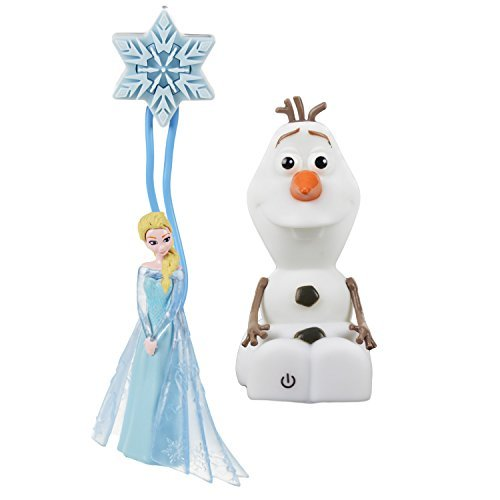 Disney Frozen Olaf and Elsa Light Up Toys
