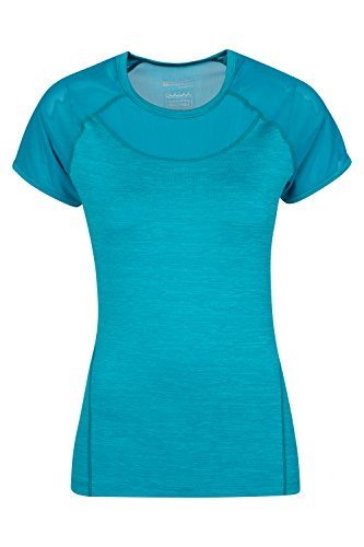Mountain Warehouse IsoCool Dynamic Womens Mesh T-Shirt Verde agua