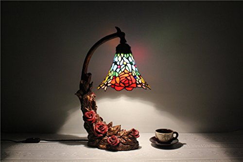 ALUS-8-inch Tiffany decorative lamp marriage site high-end works of art living room bedroom - Site Tiffany Us