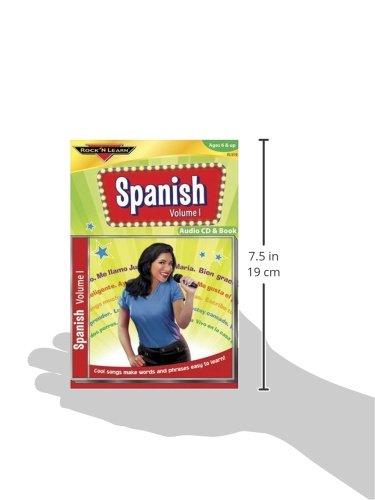 Rock n learn spanish vol 1 cd & book ☆ BEST VALUE ☆ Top